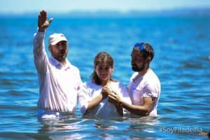 Baptisms in Lago Puyehue
